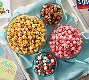 The Popcorn Factory (8) 8-oz Bags of Gourmet Summer Popcorn - M57745