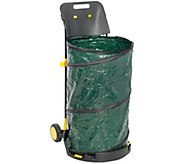 Barbara King Collapsible Container with Wheels and Scoop - M58145