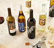 SH 11/5 Martha Stewart 12 Bottle Holiday Wine Set Auto-Delivery - M60146
