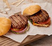 Ships 6/18 Rastelli Market (30) 5-oz Sirloin or Turkey Burgers - M58047