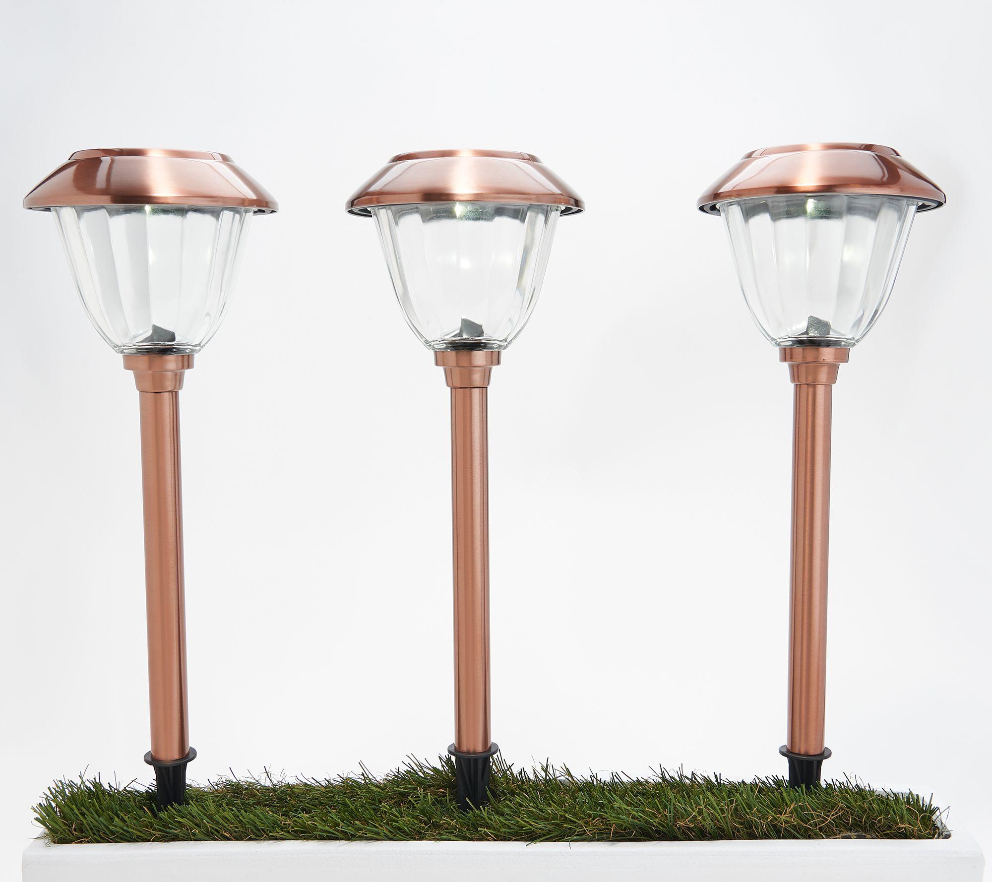 Energizer 10 Piece Solar Landscape Light Set Qvc