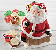 SH 12/3 Cheryls Santa Cookie Jar - M59648