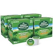 Keurig 72-ct Green Mountain Coffee Breakfast Blend K-Cup Pods - M120650