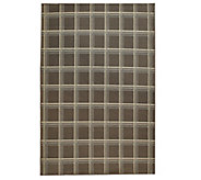 Scott Living 5x7 Windowpane Plaid Indoor/Outdoor Rug - M48552