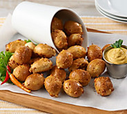 Kim & Scotts 128-count Cheese Stuffed Pretzel Poppers - M55452