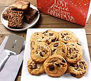 SH 11/5 Davids Cookies Holiday Spirit Choc Chunk Cookies - M59752