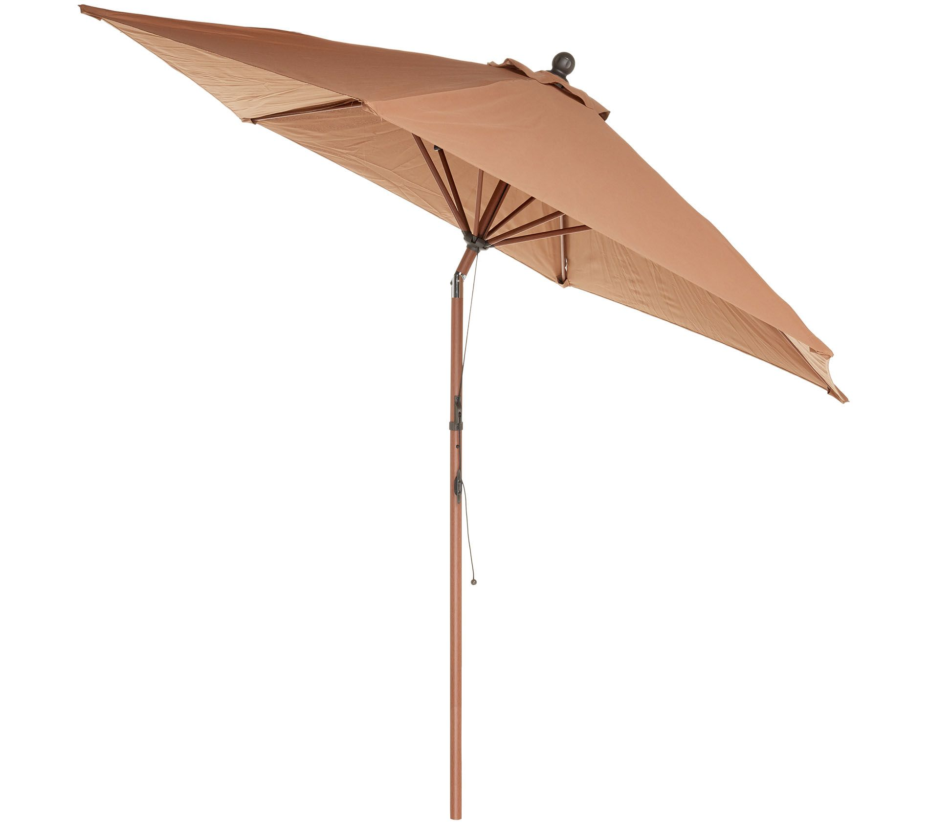 4f5a233bf ATLeisure 9' Round Fade Resistant Easy Open Patio Umbrella - Page 1 —  QVC.com