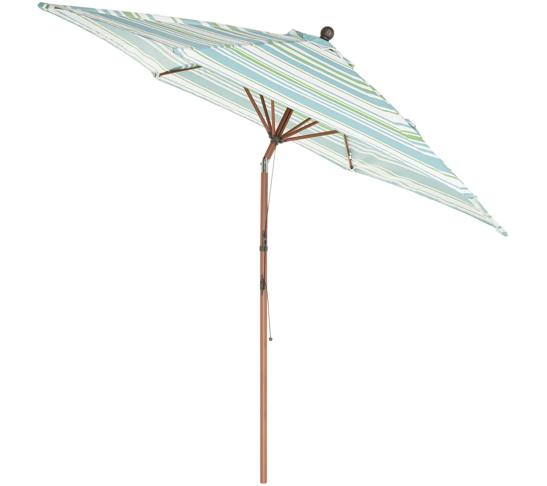 Atleisure 9 Round Fade Resistant Easy Open Patio Umbrella Page 1