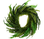 National Tree 35 Faux Fern Wreath - M55953