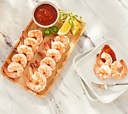 SH 12/3 Martha Stewart 3-lbs Wild Peeled Shrimp w/ Cocktail Sauce - M60054