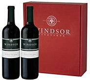 Vintage Wine Estates Windsor Cabernet 2 Bottlesin Gift Box - M117856