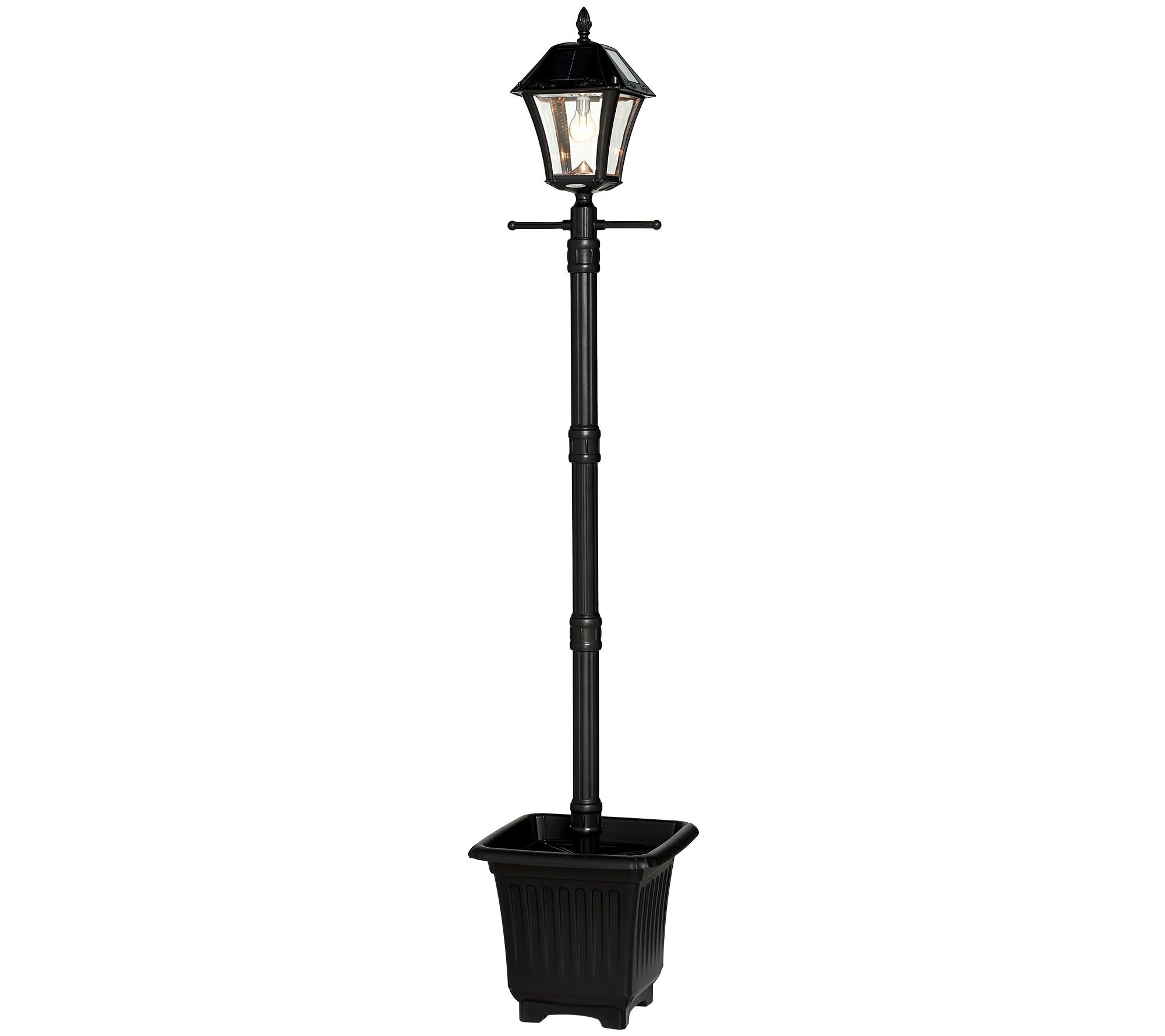 Gama Sonic 65 Solar Lamp Post With Planter Led Light Bulb Page
