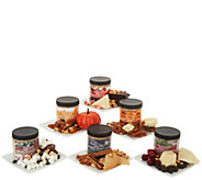 SH 11/5 B.Nutty (6) 8-oz Jars of Gourmet Holiday Peanut Butter - M59857