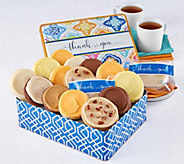 Cheryls Thank You Gift Tin - 16 Frosted Cookies - M117158
