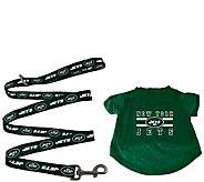 Sparo NFL Pet T-Shirt and 6 Leash - M117360