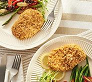 Stuffin Gourmet (10) 5-oz Parmesan Breaded Chicken Breasts - M60160