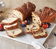 SH 4/8 Jimmy the Baker (4) 1-lb Cinnamon Bread Loaves - M62960