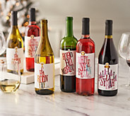 SH 12/3 Vintage Wine Estates Holiday Cheers 12 Bottle Wine Set - M60061