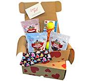 Love Your Dog Treat, Toy & Bandana Goody Box - M120462