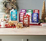 SH12/10 Harry & David (8) 10-oz Gourmet Moose Munch Popcorn Gifts - M58963