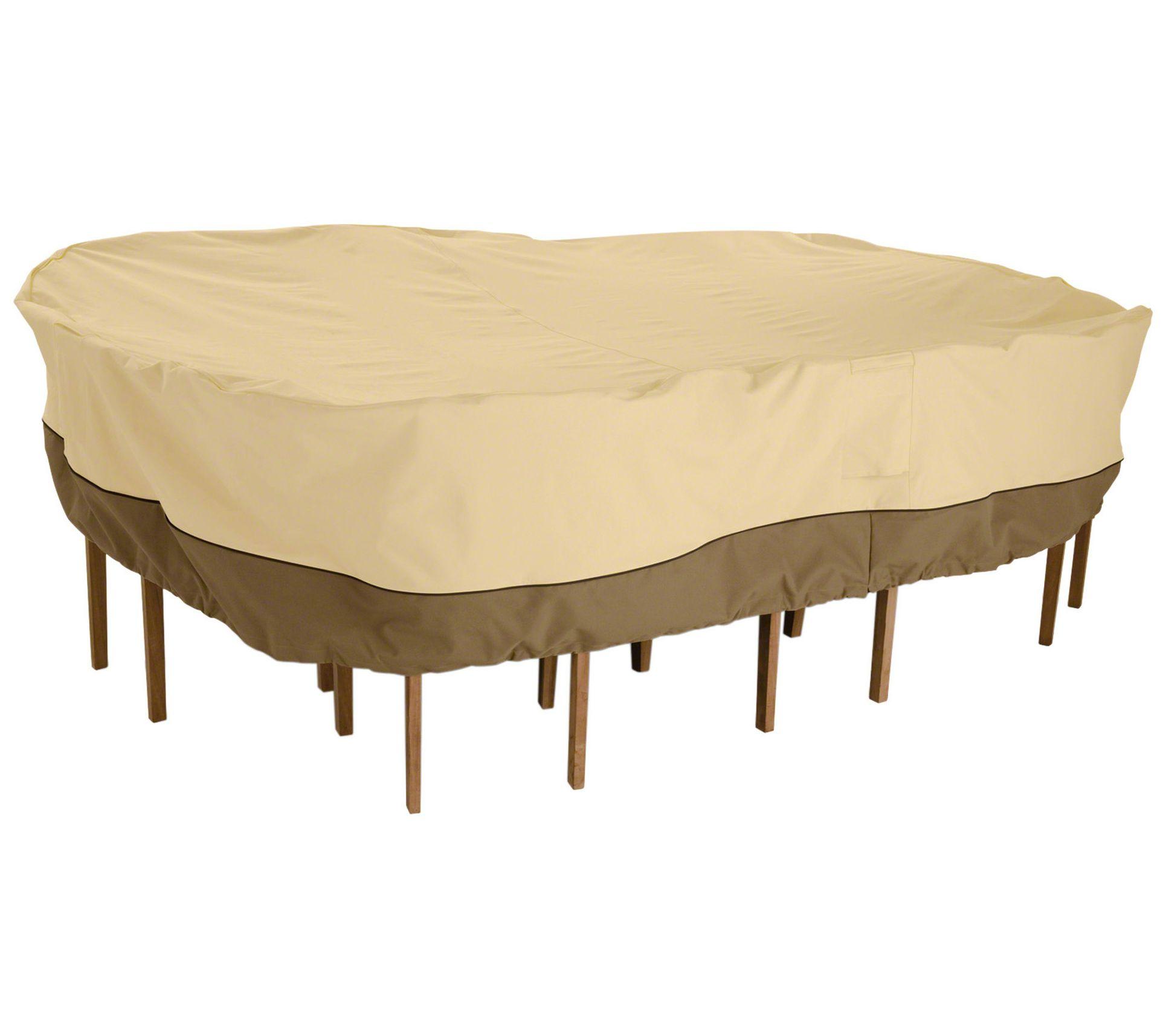 Clic Accessories Veranda Large Outdoor Furniture Cover Qvc