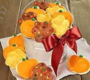 Cheryls Pumpkin and Leaf Cookie Pail - M116064