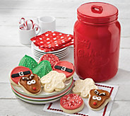 SH 11/5 Cheryls Red Holiday Mason Jar - M59664