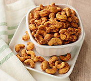 SH 11/5 Sunshine Nut Co (6) 7-oz Sugar & Spice Roasted Cashews - M59864