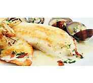 Anderson Seafoods (12) 6 oz Fresh Caribbean Tilapia Filets - M115966