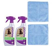 Rejuvenate 24oz Carpet/Upholstery Cleaners & Microfiber Cloths - M114967