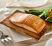 Egg Harbor (3) 1 lb. Cedar Plank Faroe Island Salmon Filets - M53167
