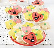 Cheryls Ladybug & Flower Cookie Box - 24 count - M116968