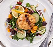 Great Gourmet (10) 4-oz Salmon Cakes with Cranberry & Feta - M58868