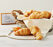 Authentic Gourmet 48 Large Butter Croissants Auto-Delivery - M54371