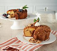 My Grandmas (2) 28-oz Patriot and Cinnamon Coffee Cakes - M59071