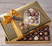 Harry London 80-pc 2.45-lb Chocolates in Gold Gift Box - M56172