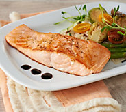 SH 12/3 Egg Harbor (10) 8-oz Faroe Island Salmon Filets - M59472