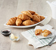 Authentic Gourmet 50 Mini Butter Croissants Auto-Delivery - M60072