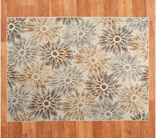 Fl Bloom Indoor Outdoor Rug