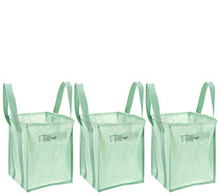Martha Stewart Set of 3 Multipurpose Heavy-Duty XL Totes