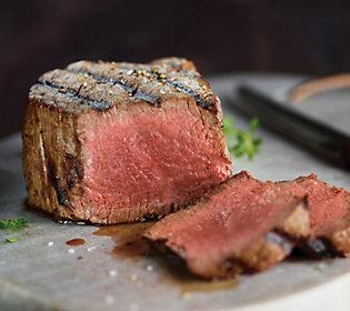 Kansas City Steak Co. (4) 6-oz USDA Prime File t Mignon Steaks
