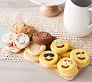 Cheryls 24pc Cookie Assortment Featuring 8 Emoji Cookies - M55774