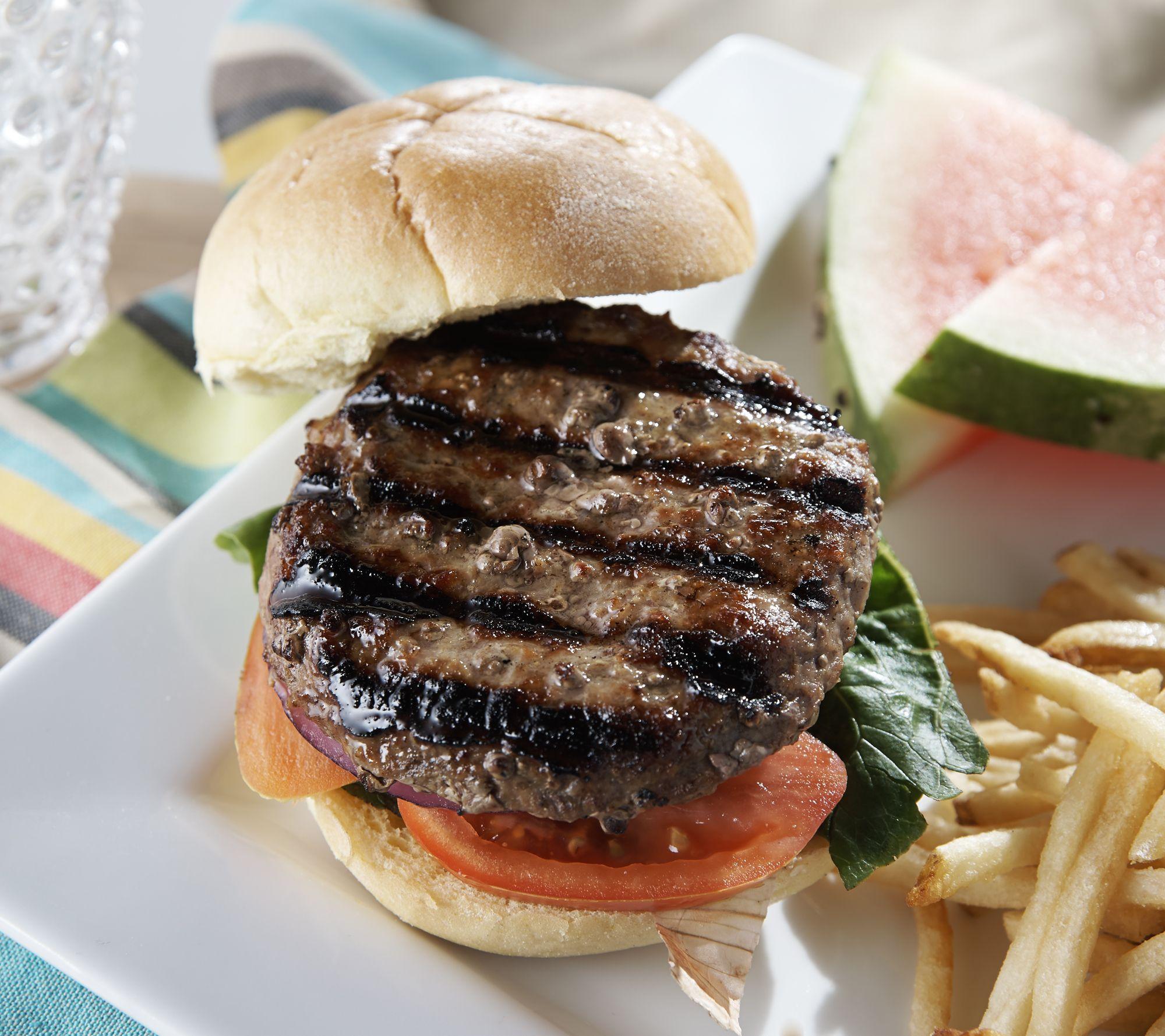 Kansas City Steak Company 12 6 Oz Brisket Burgers Qvc Com