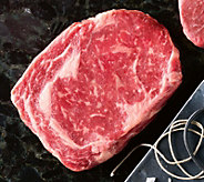 Kansas City Steak (4) 10-oz USDA Prime Boneless Ribeye Steaks - M116576