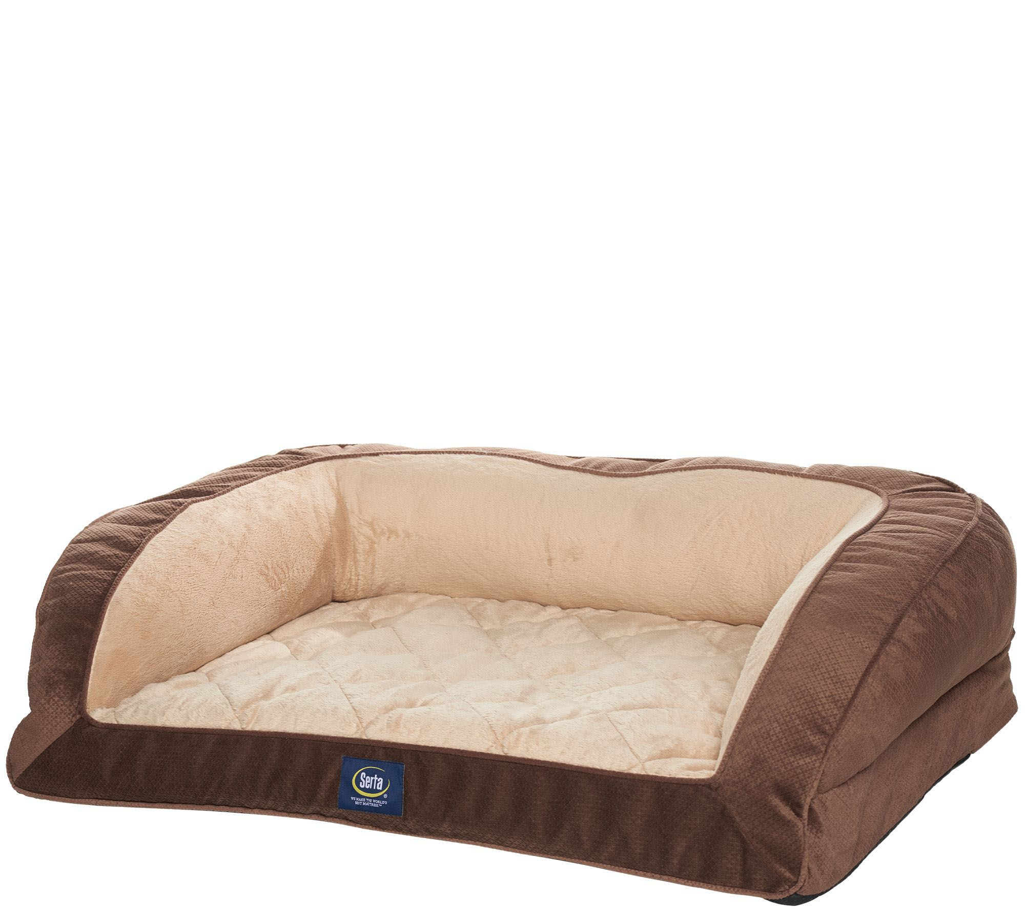 quilted foam serta dog orthopedic photo memory bed size pet p large