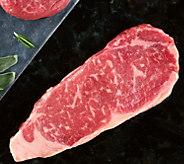 Kansas City (4) 12-oz USDA Prime Kansas City Strip Steaks - M116578