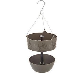 Bernini Round Hanging Bird Feeder & WaterFountain (M55878) photo