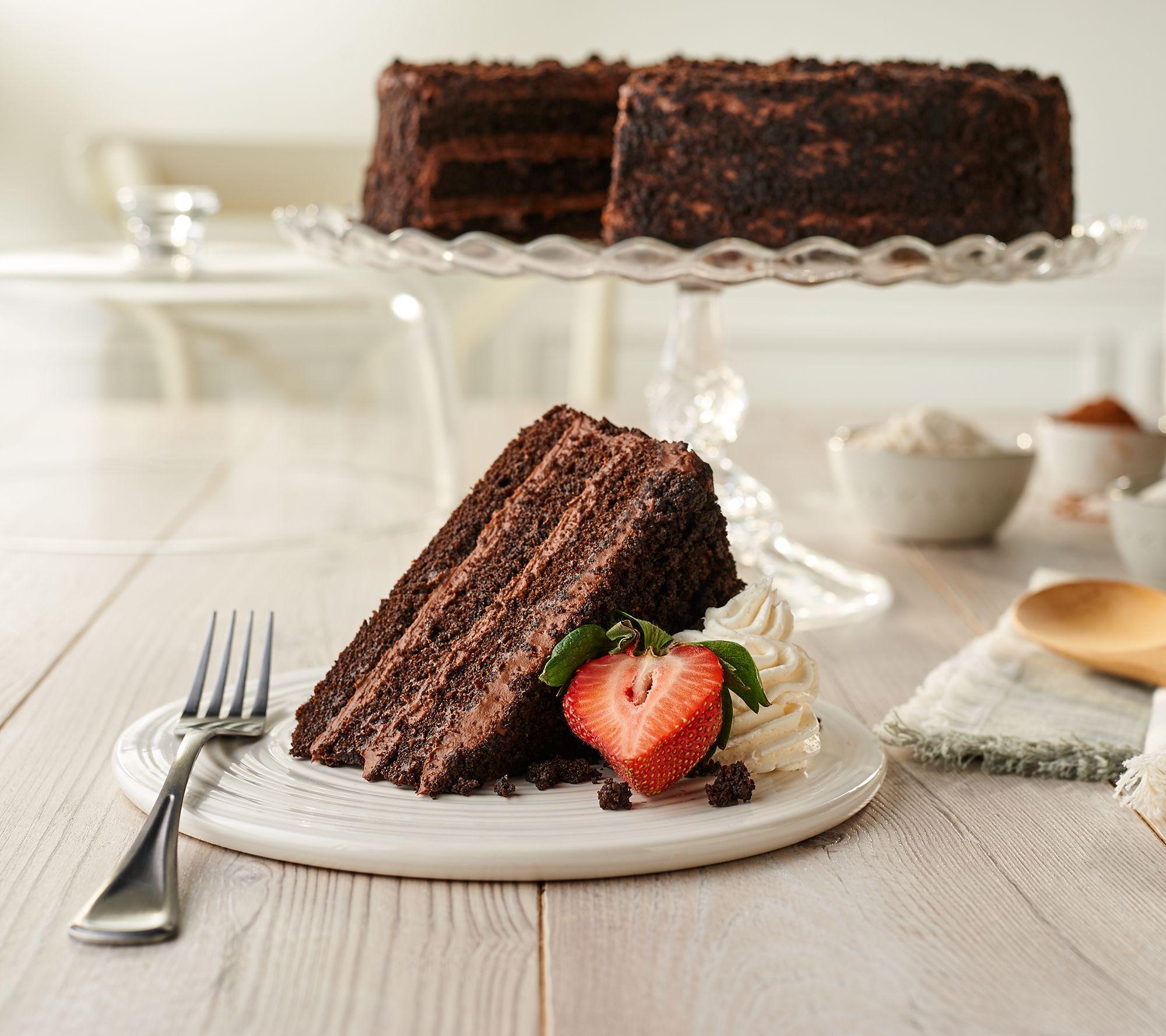 900a01e5b24ca Junior s 5-lb Brooklyn Blackout Layer Cake - Page 1 — QVC.com