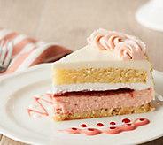 Juniors 3.5-lb Strawberry Shortcake Cheesecake - M58879
