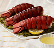 SH11/5Greenhead Lobster (6) 6-7-oz Maine Lobster Tails w/ Butter - M59579